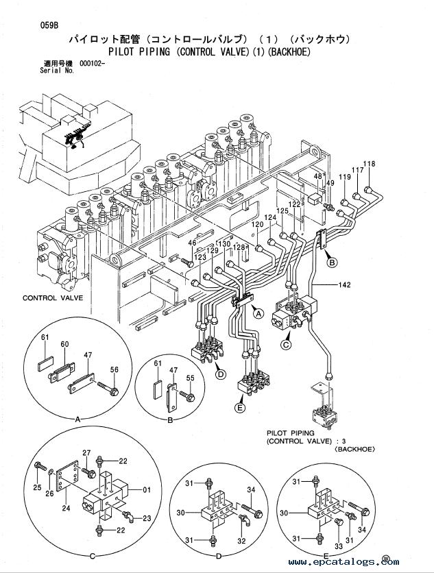 Hitachi Ex1900 5 Excavator Parts Catalog P18c 1 3 Pdf