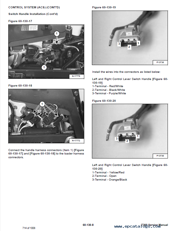 Bobcat T300 Harness - Wiring Diagrams List
