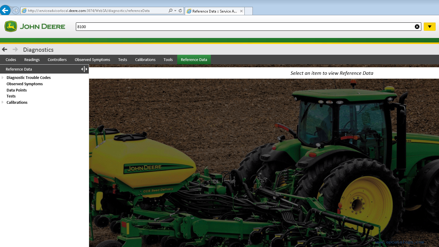 repair manual John Deere Service Advisor 5.2.467 2018 Agriculture Equipment  Division - 4