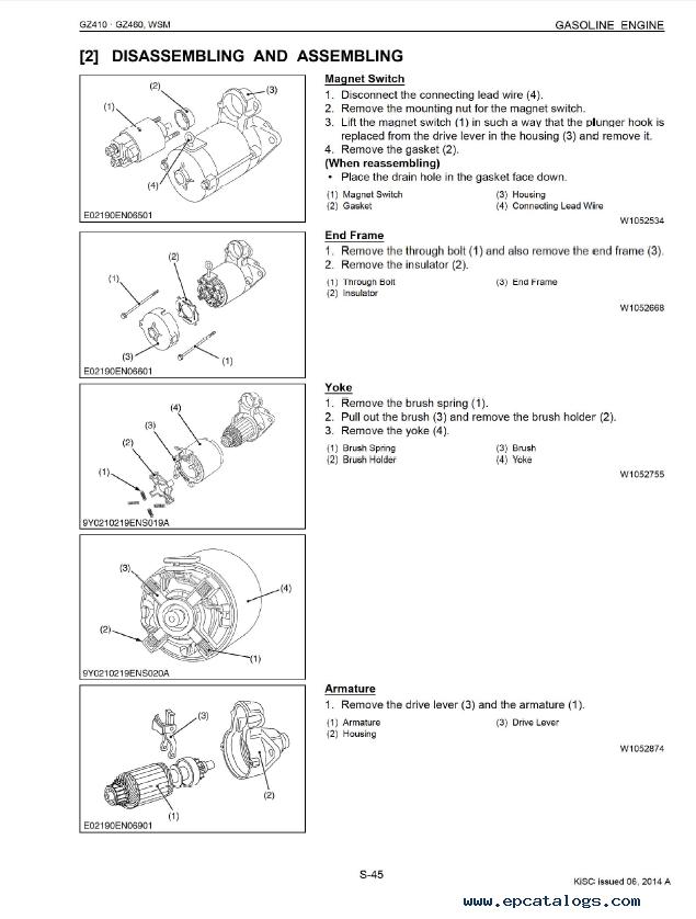 Kubota Gasoline Engines Engine Problems And Solutions