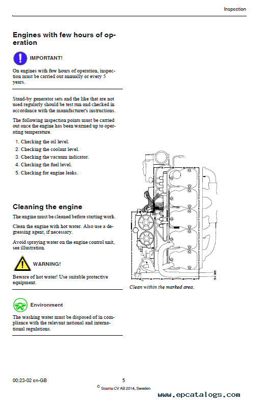 Scania Dc Dc Industrial Engines With Xpi Instructions And Manual on Scania Dc09
