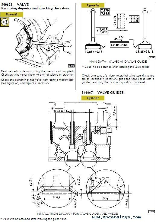 iveco c13 ent tier2  repair manual  engines