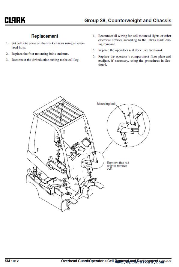 Clark Forklift C20  25  30  35 D Pdf Service Manual Download