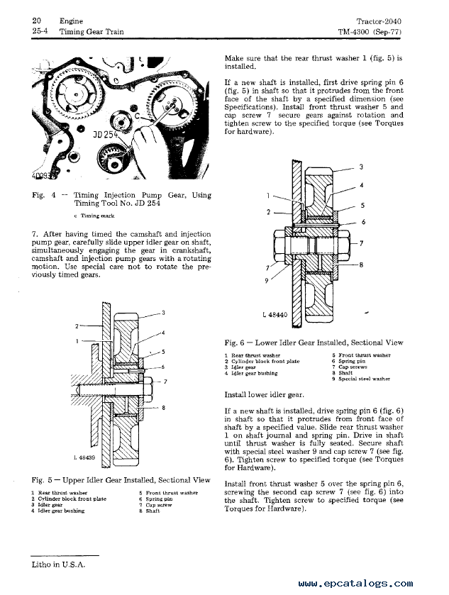 John Deere 2040 Parts Diagram : John deere lift diagram tractor engine and