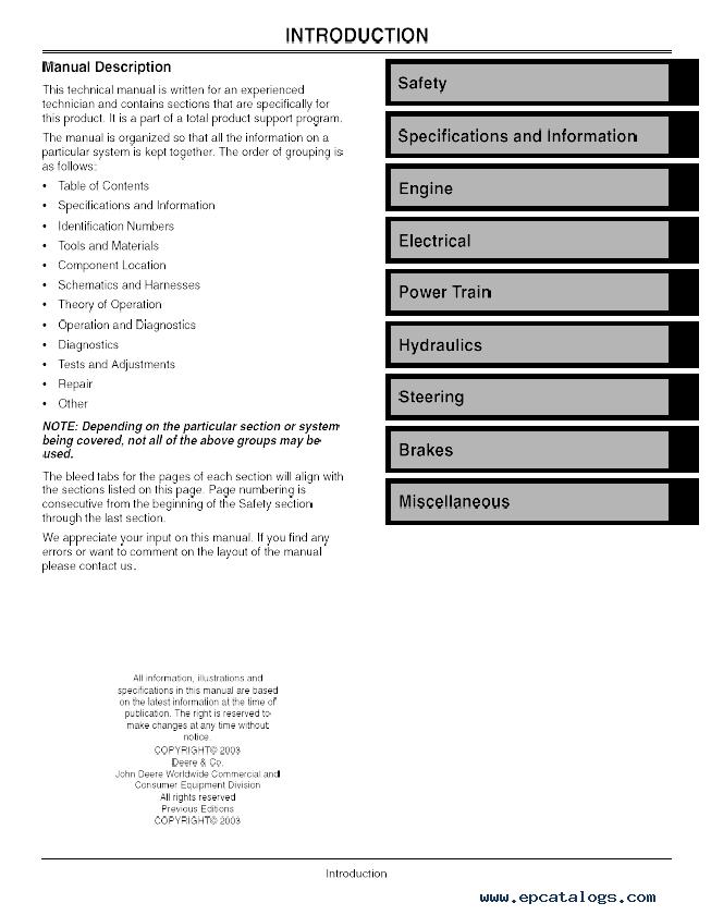 jd 790 manual