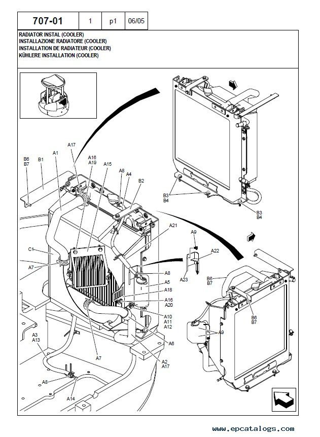 New Holland Kobelco E50 2sr Excavator Parts Catalog Pdf Download