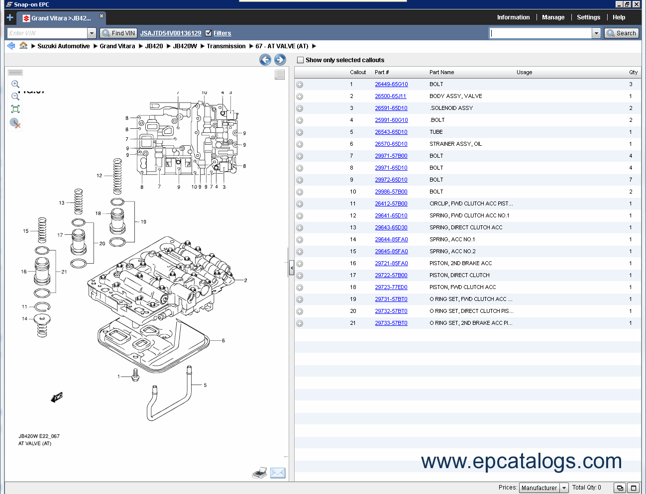 suzuki worldwide automotive epc5 2014 parts catalog download rh epcatalogs com suzuki grand vitara parts catalog pdf suzuki grand vitara parts list
