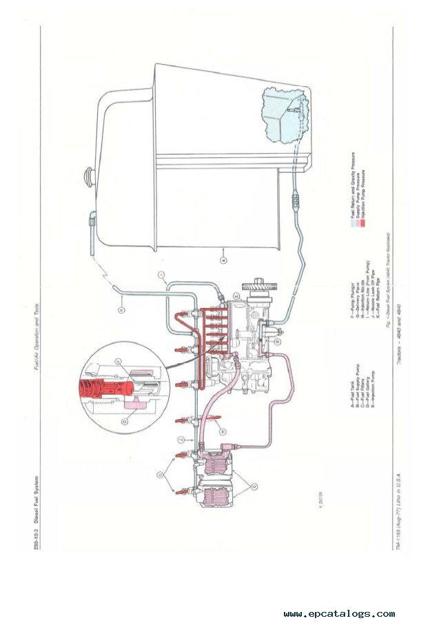 john deere 4640 4840 tractors tm1183 pdf manual JD 6400 Wiring-Diagram