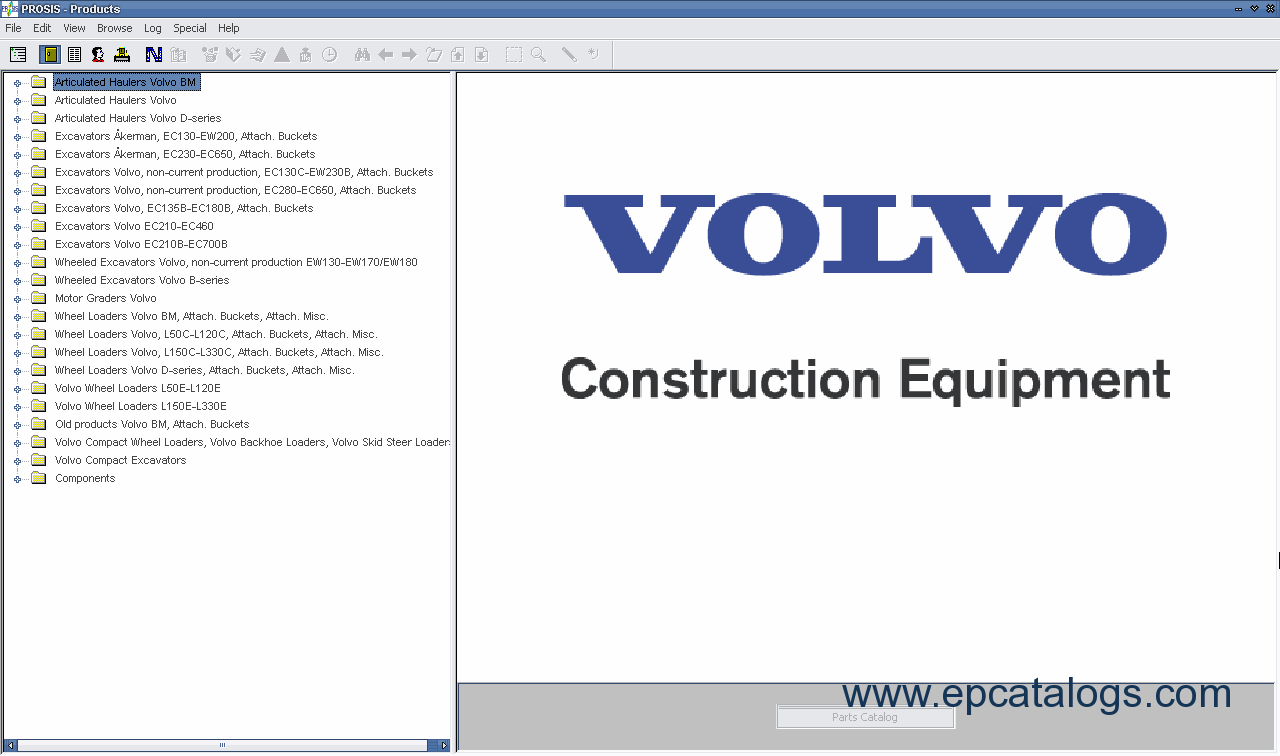 volvo prosis 2006 spare parts catalog workshop manual rh epcatalogs com Honda Service Manual PDF Honda GX340 Service Manual
