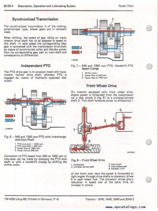 John Deere 1640184020402040s Tractors Tm4363 Pdf. Repair Manual John Deere 1640184020402040s Tractors Tm4363 Technical Pdf. John Deere. John Deere Pto Diagram 1640 At Scoala.co