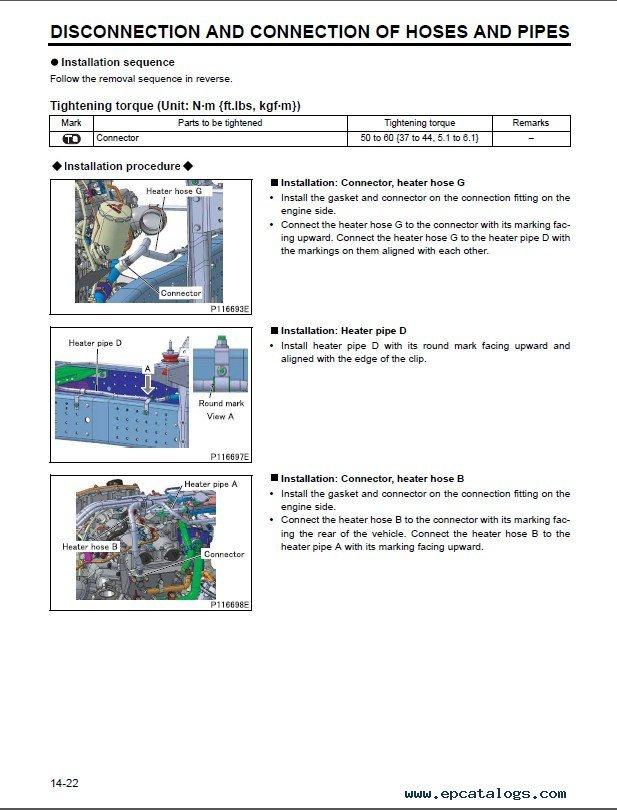Mitsubishi fuso service manual 2002, 2003, & 2004 youtube.