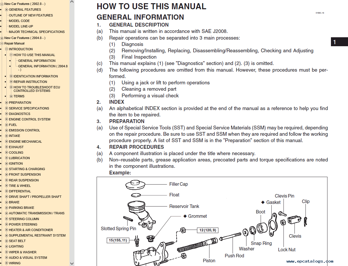 lexus sc430 pdf manual