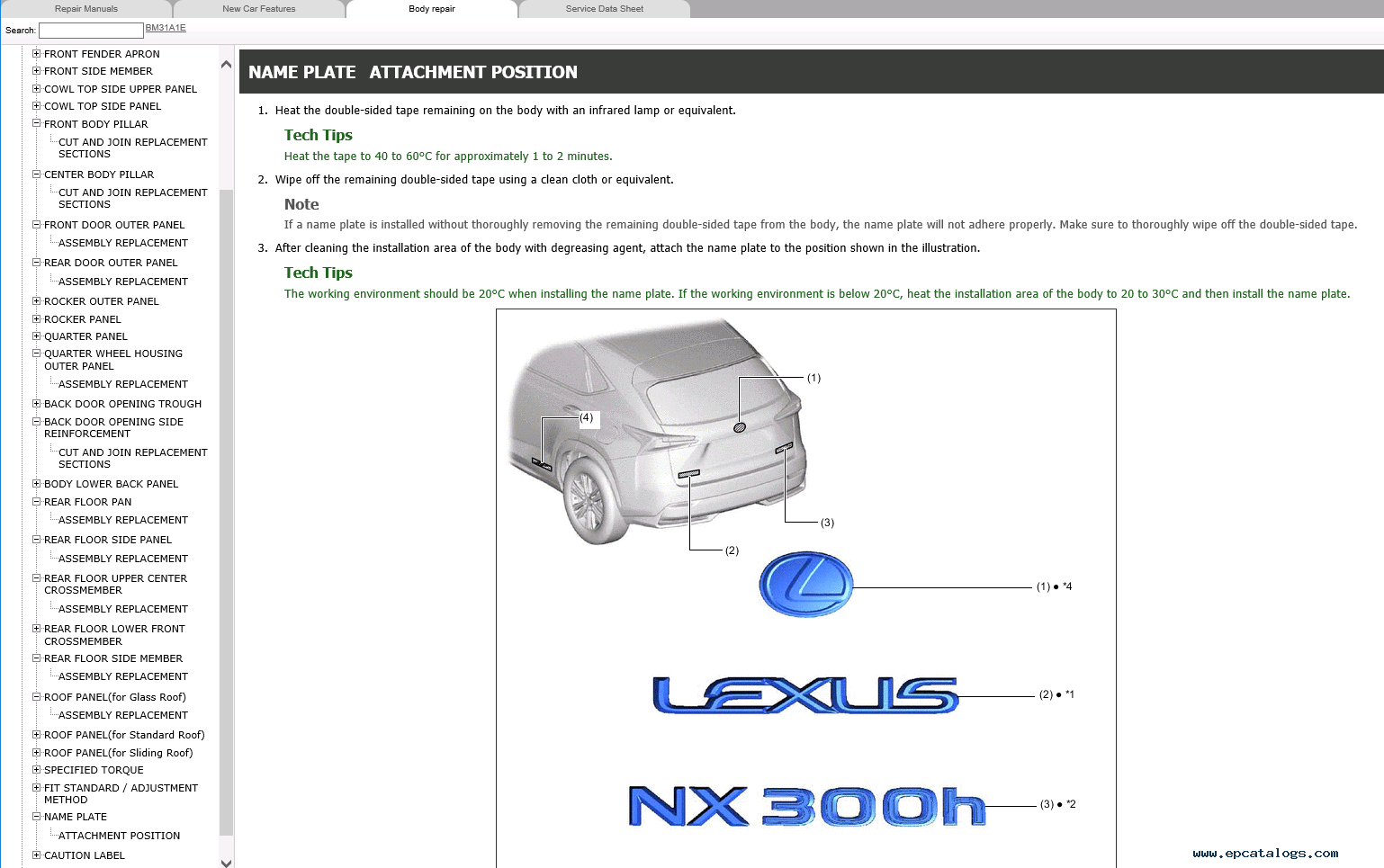 Lexus Nx300h Repair Manual Pdf  07 2014