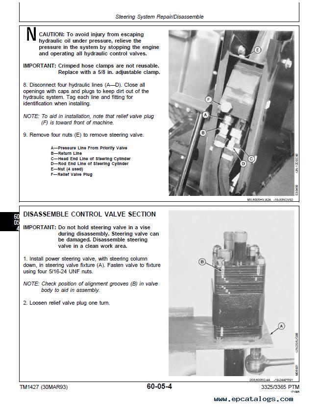 John Deere 3325 manual