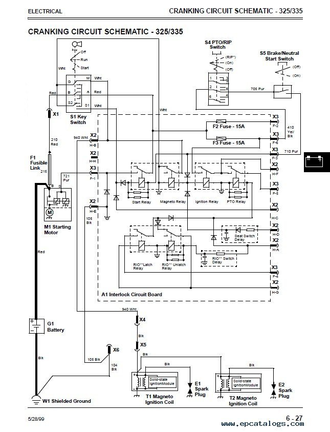 Admirable John Deere 345 Wiring Diagram For Mower Wiring Diagram Data Schema Wiring Digital Resources Zidurslowmaporg