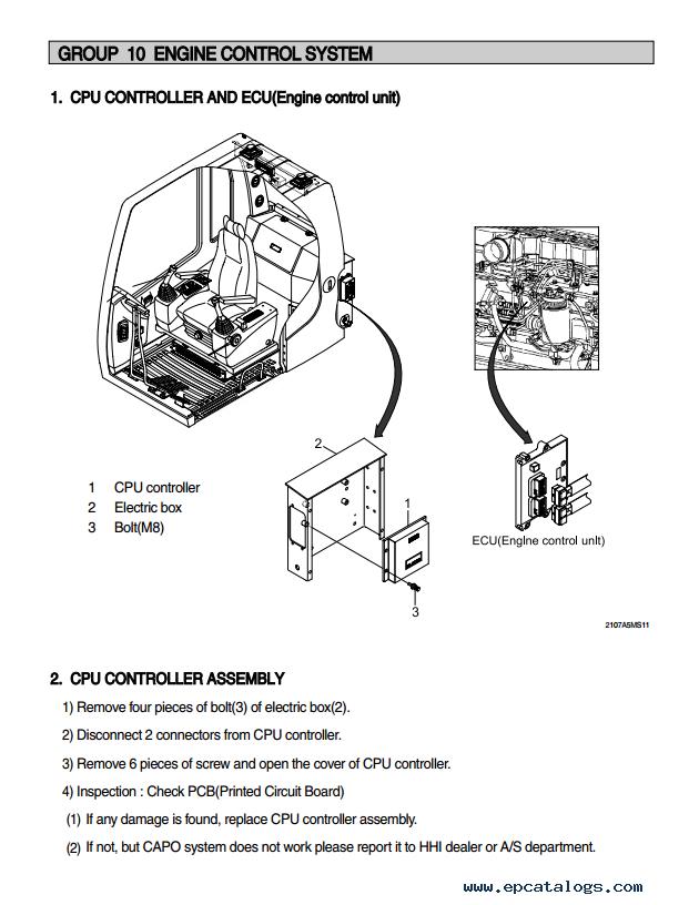 Hyundai R210nlc 7a Crawler Excavator Service Manual Download border=