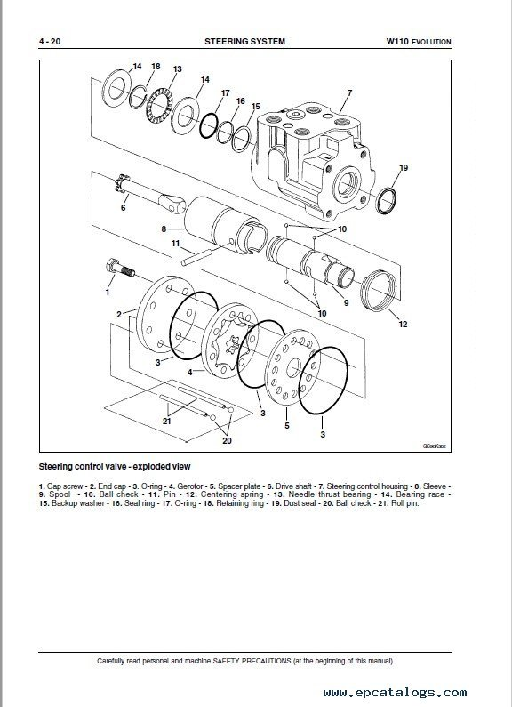 Fiat Kobelco W110 Evolution Loader Sm Pdf Download Instant
