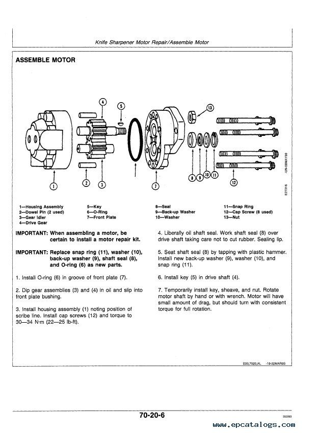 John Deere 5730 5830 Propelled Forage Harvesters PDF – John Deere 730 Engine Diagram