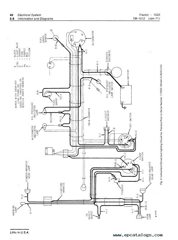 l14 30 to l5 30 wiring diagram john deere 1520 tractor tm1012 technical manual pdf #6