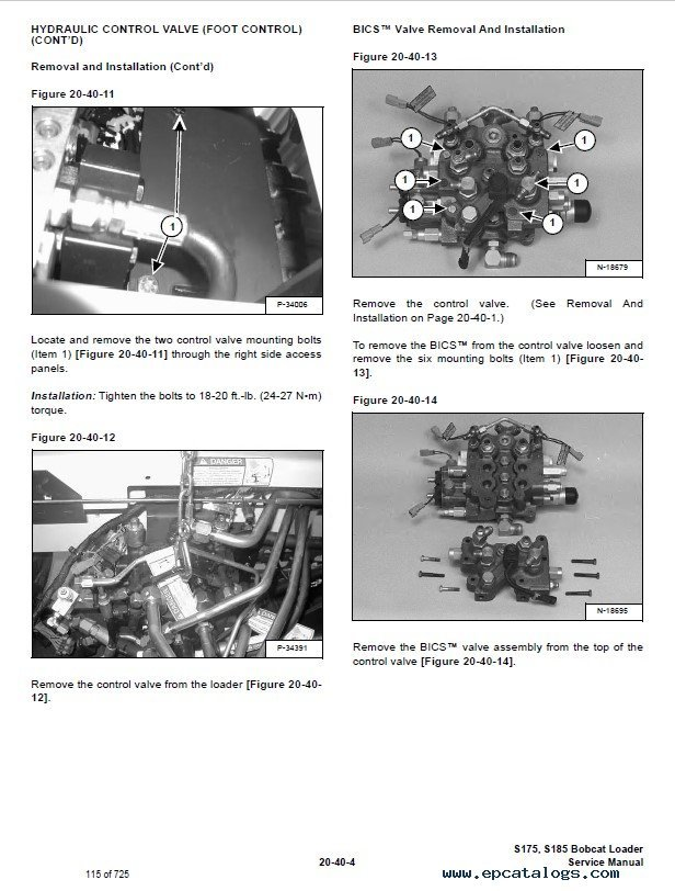 Bobcat Service S175 S175H S185 S185H Skid Steer Repair Manual service bobcat s175 wiring diagram wiring diagram shrutiradio 3126 Caterpillar Wiring Diagrams at mifinder.co