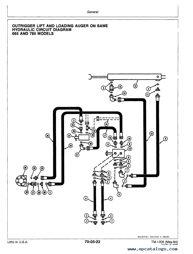 john deere 655 665 seeders 770 775 780 785 air drill pdf rh epcatalogs com John Deere 4100 Electrical Diagram John Deere 4020 Electrical Diagram
