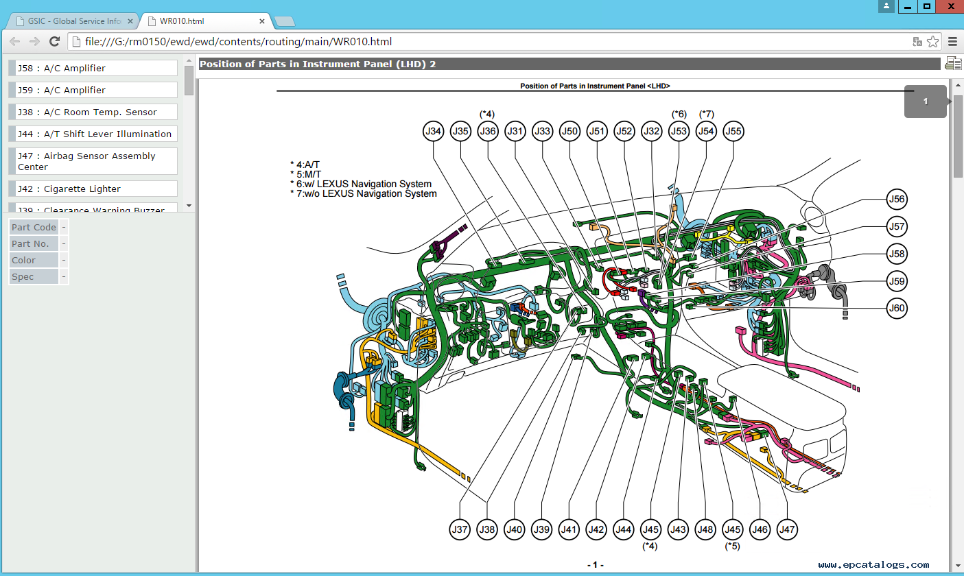 Stupendous Wiring Diagram Lexus Is 250 Basic Electronics Wiring Diagram Wiring Digital Resources Spoatbouhousnl