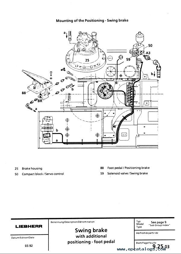 Liebherr A900 A902 A912 A922 A932 Excavator Service Manual liebherr wiring diagram mitsubishi fuso canter wiring diagram liebherr wiring diagram at bayanpartner.co