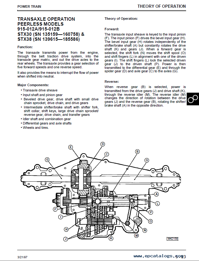 john deere stx30 stx38 stx46 lawn tractors tm1561 technical manual pdf deere stx38 manual free 100 images free deere stx38 manual John Deere STX38 Electrical Diagram at fashall.co