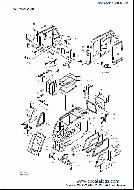Jib Replacement Parts : Kato sr sp v spare parts catalog pdf download