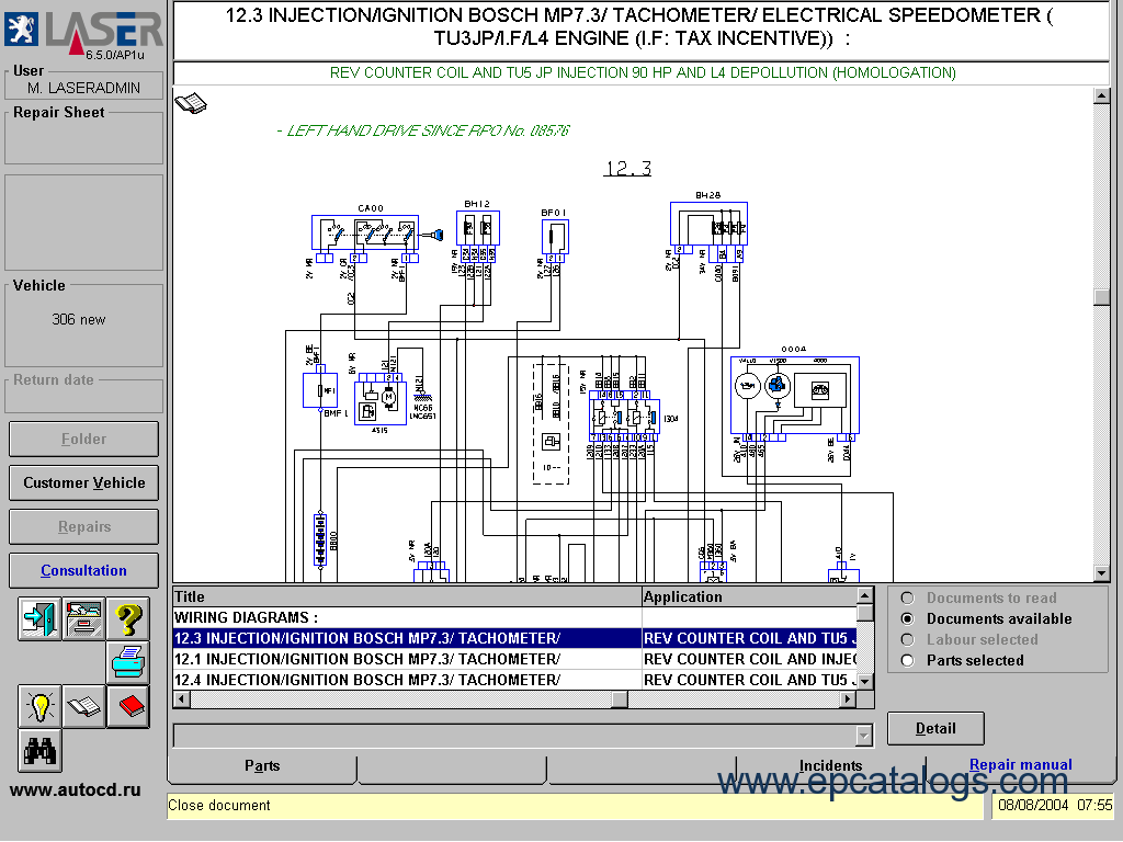 Peugeot 307 Hdi Wiring Diagram Library Diagrams 206 505 Gr Diy Enthusiasts Source Peugeot0506 Rh Epcatalogs Com