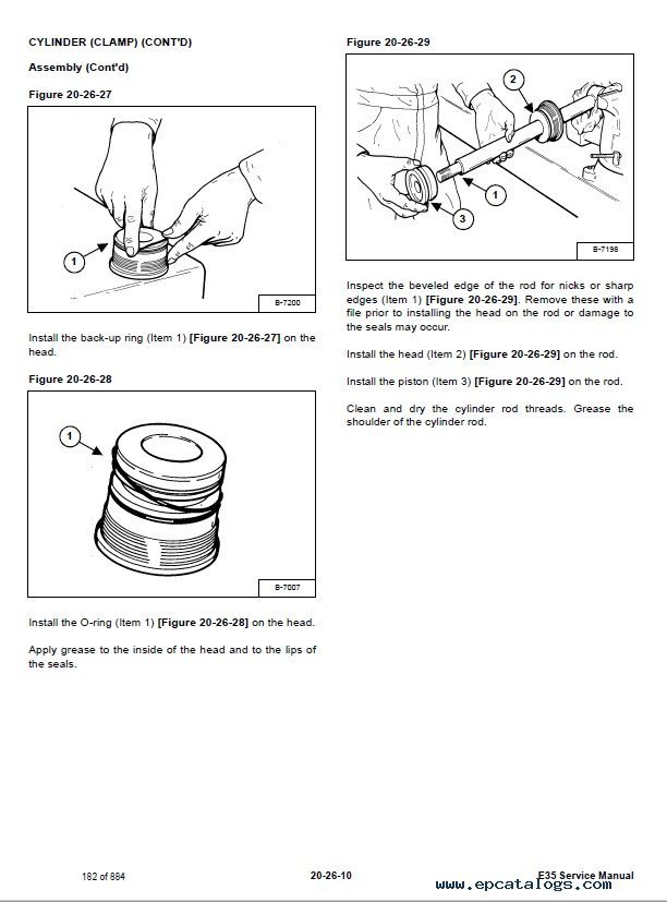 Bobcat E35 Compact Excavator Service Manual PDF