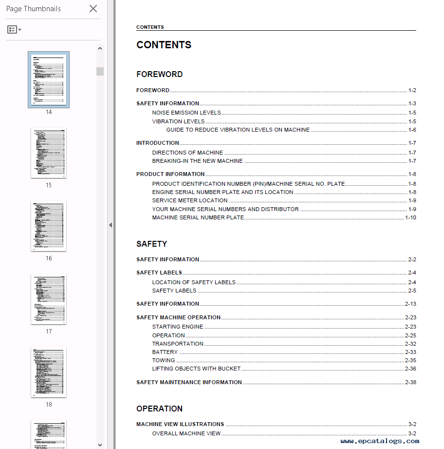 repair manual Komatsu Hydraulic Excavator PC130-7 PDF Set of Manuals - 2