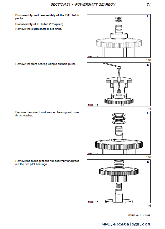 new holland lm1330  lm1333 workshop manual pdf
