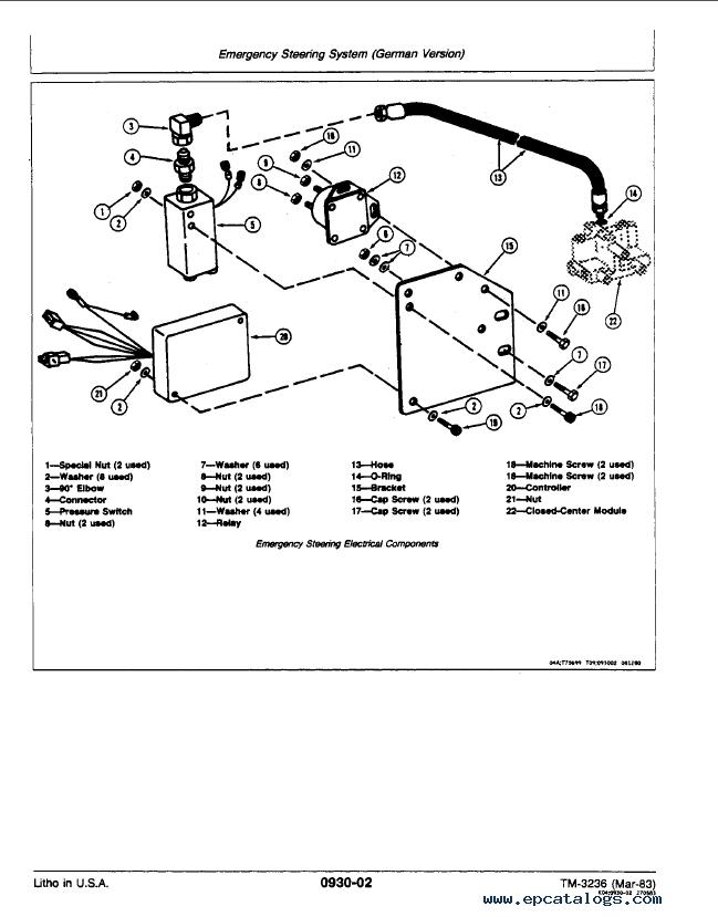 john deere 3140 service manual