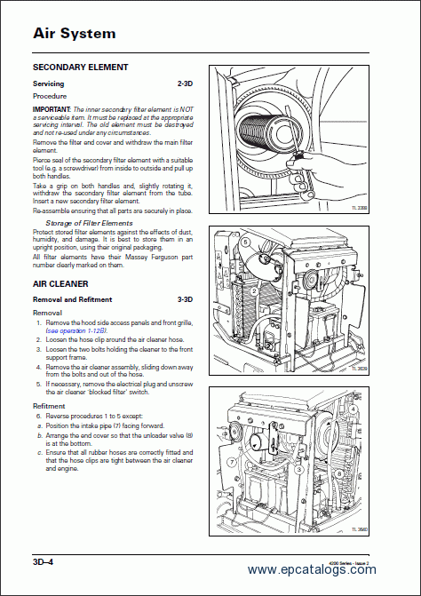 Massey Ferguson Tractors 4300 Series Service Manual Download