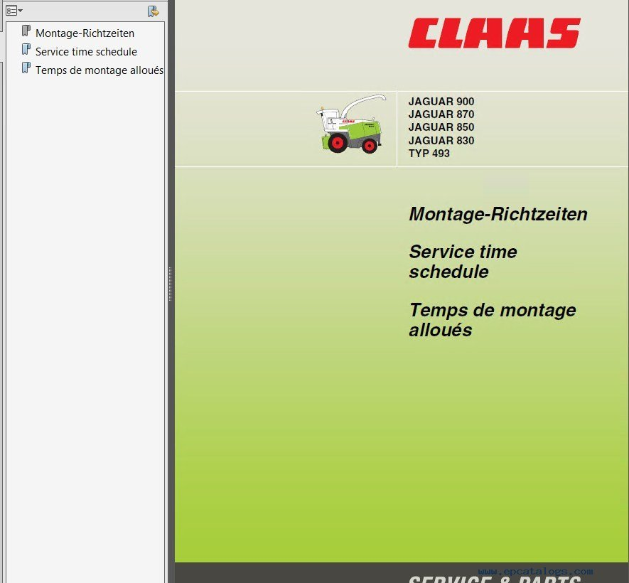 Claas jaguar 675 980 pdf manuals repair manual claas jaguar 675 980 pdf manuals instructions 3 solutioingenieria
