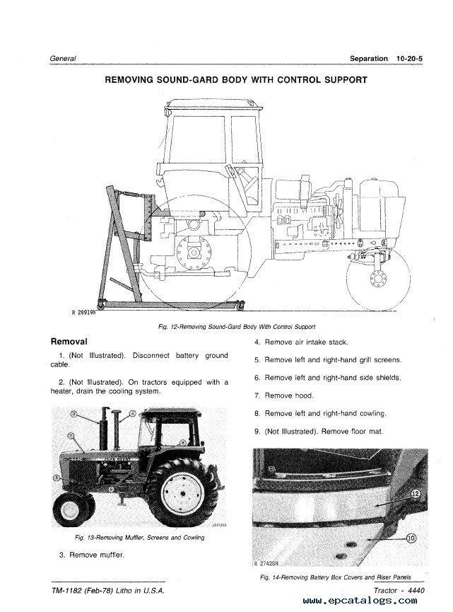 john deere 4440 air conditioning wiring diagram 47
