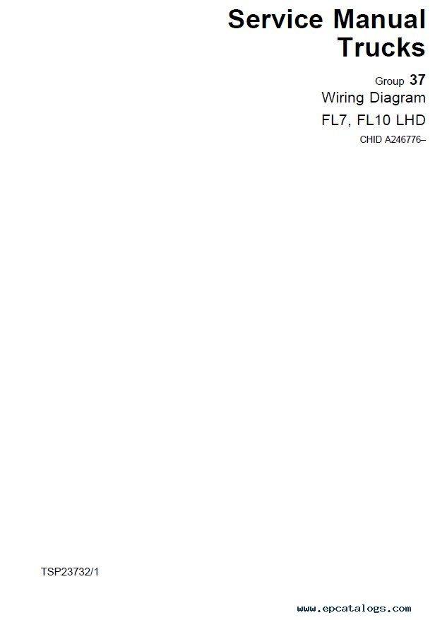 volvo trucks fl7 fl10 fl12 wiring diagram manual pdf rh epcatalogs com Volvo XC90 Wiring-Diagram 2003 Volvo Truck Schematics