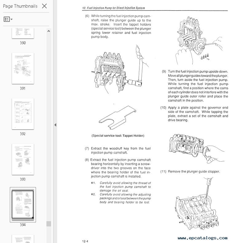 Takeuchi Wiring Diagram - Wiring Schematics