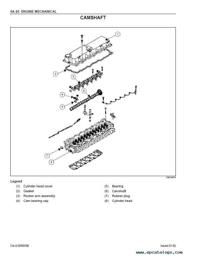 isuzu 6hk1 engine diagram read all wiring diagram 4 Cylinder Isuzu Diesel Engine