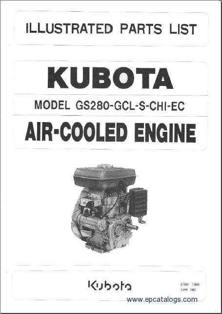 Kubota Gs280 Te Manual