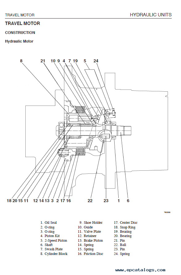 takeuchi tl140 electrical schematic