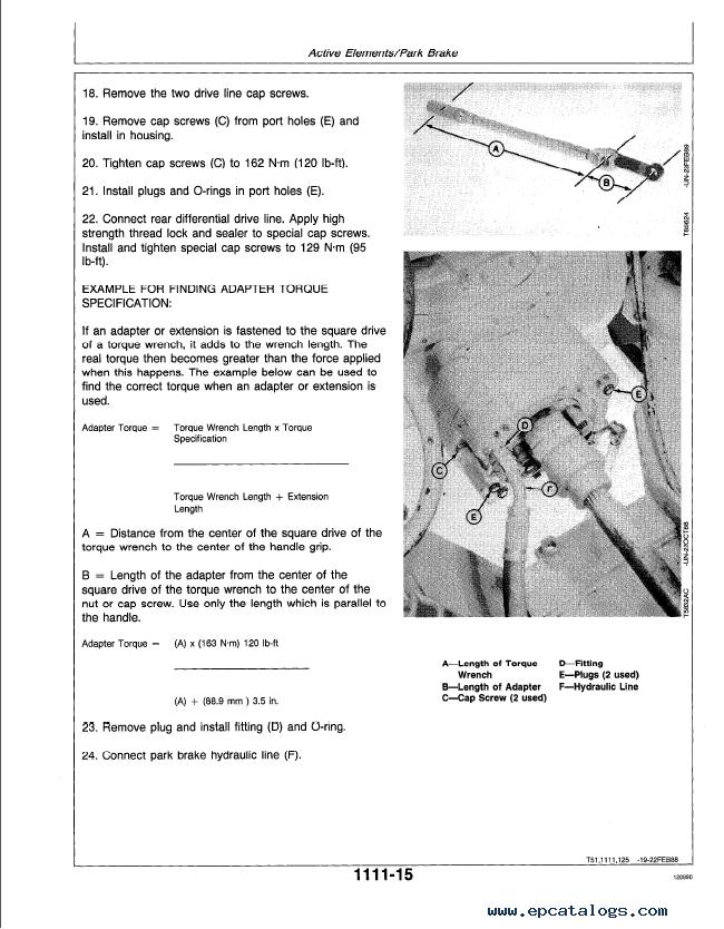Enlarge Repair Manual John Deere 640d 648d Skidders Tm1440 Technical Pdf 5: John Deere Skidder 648 Wiring Harness Diagram At Aslink.org