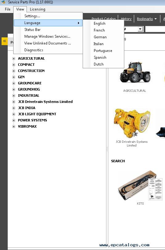 Jcb Spp 117 2013 Partspro Parts Catalog Spare: Jcb Parts Manual At Diziabc.com