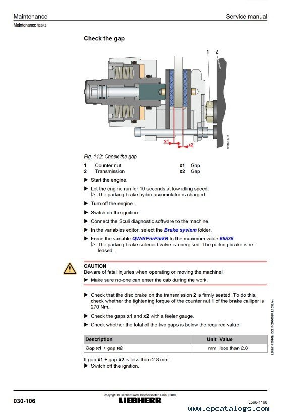 Liebherr L 566 1168 Wheel Loader Service Manual Pdfrhepcatalogs: Key Switch Wiring Diagram Liebherr At Elf-jo.com