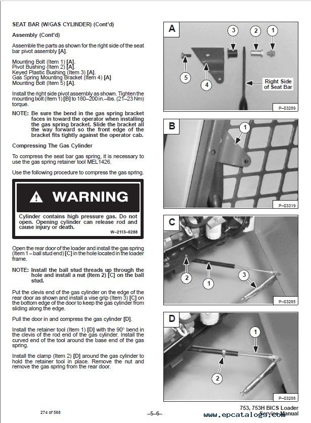 753 Bobcat online Service Manual