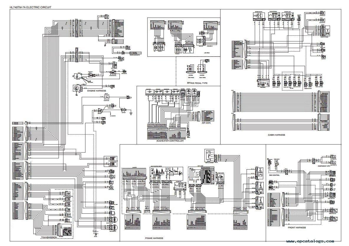 repair manual Hyundai HL740-7A & HL740TM-7A Wheel Loader Service Manual - 5
