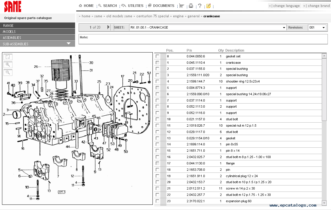 same sdf e parts 2014 spare parts catalog download rh epcatalogs com John Deere Tractor Parts Online Same Farm Tractor Parts