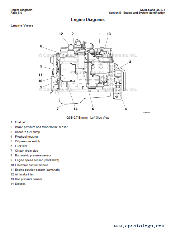 Qsb6 7 Wiring Diagram | Wiring Diagram