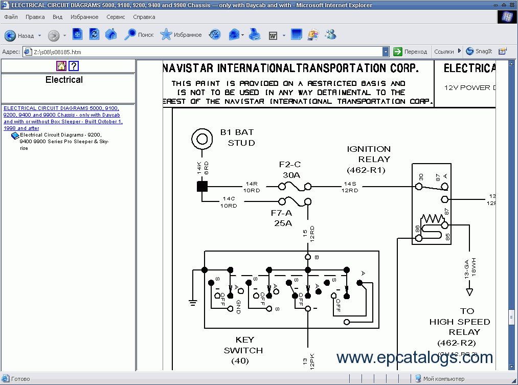 ISIS07 wiring diagram 9200 international wiring wiring diagrams collection  at virtualis.co